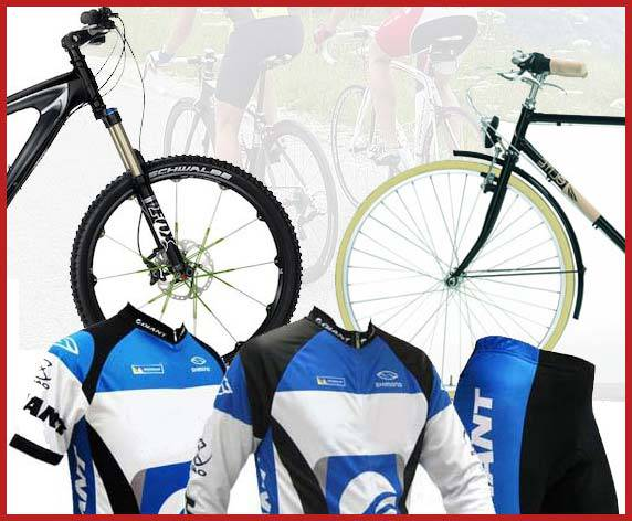 stocchista abbigliamento sportivo biciclette mtb