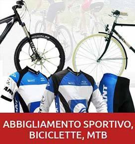 Stocchista biciclette abbigliamento sportivo